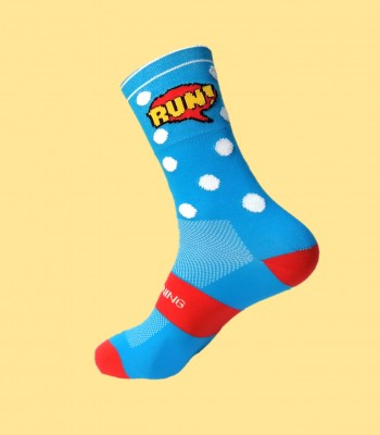 Comic Running Socks
