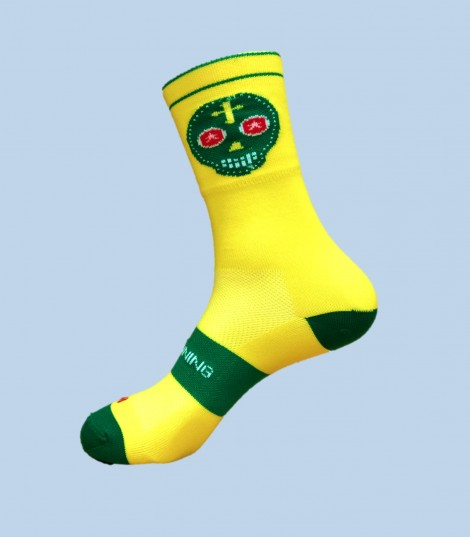 Half cut Skully Socks