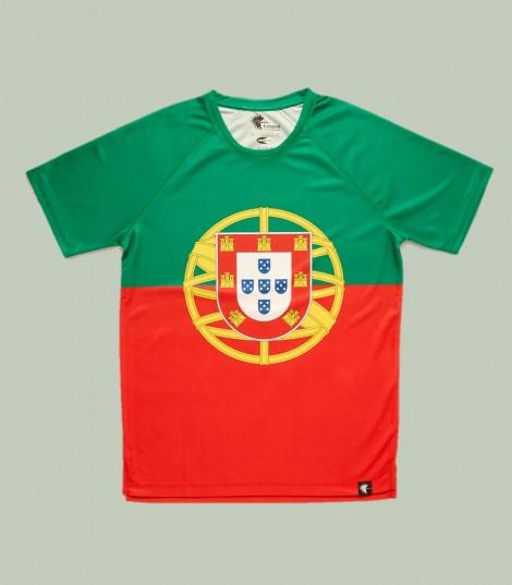 Camiseta running Portugal Hoopoe Running Apparel