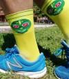Half cut Skully Socks