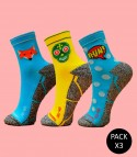 Calcetines Trail Running - Pack 3 Mix
