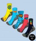 Trail Running Socks - Pack 5 Mix