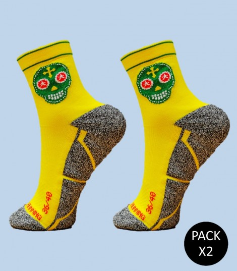 Calcetines Skully - Pack 2