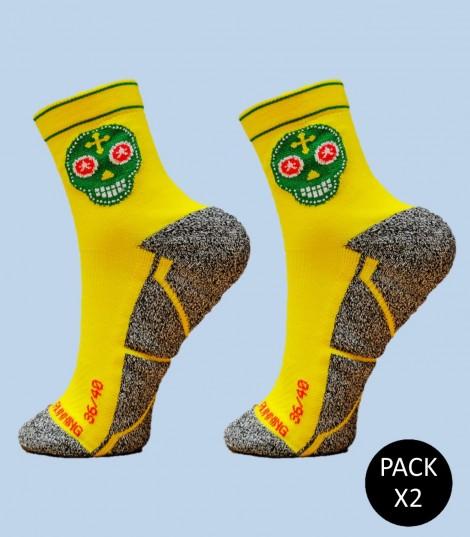 Skully Socks - Pack 2