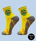 Skully Trail Running Socks - Pack 2