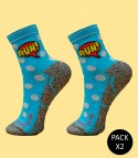Trail Running Comic Socks - Pack 2