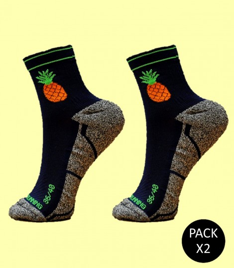 Pineapple Socks - Pack 2