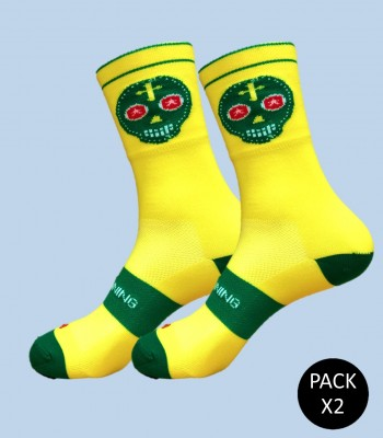 Skully Running Socks -...