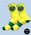 Skully Running Socks - Pack 2