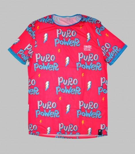 Camiseta running Puro Power Hoopoe Running Apparel