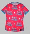 Camiseta mujer puro power. Hoopoe Running Apparel