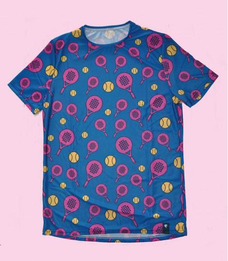 Camiseta Padel Hoopoe Running Apparel