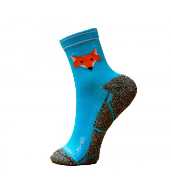 Fox Blue Socks