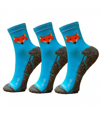 FoxBlue Socks - Pack 3