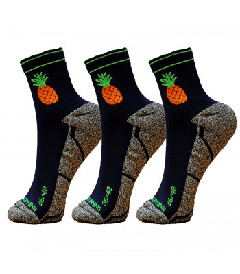 Pineapple Socks - Pack 3