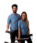 Cycling Jersey Fox Blue