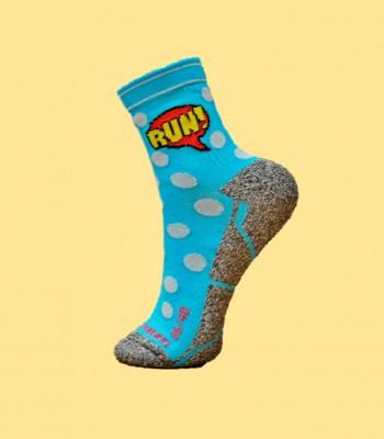 Comic Trail Running Socks
